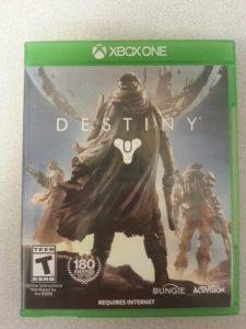 destiny xbone