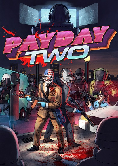 payday 2 hotline miami poster