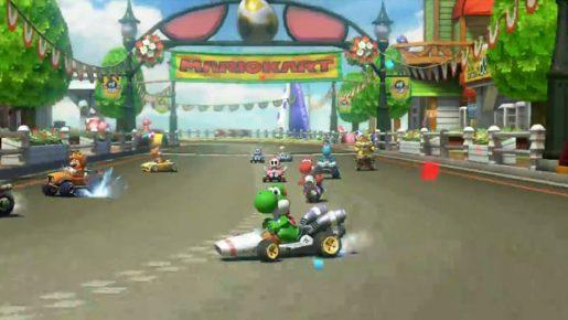 Mario Kart 8 Yoshi Circuit