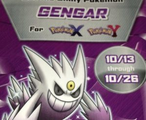 Gamestop-Exclusive Shiny Gengar Pokemon Available 10/13