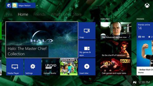 Xbox One March Dashboard