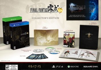 Final Fantasy Type-0 HD Collector's Edition detailed