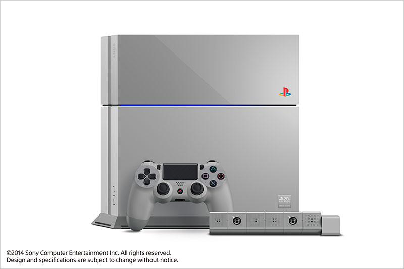 PS4 20th Anniversary Edition announced