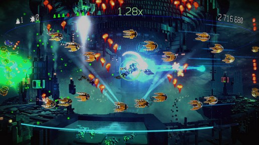 resogun ps3 screens