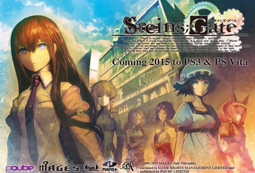Steins Gate Soon Available In English On Playstation Jps