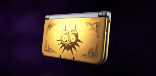 Majora's Mask New Nintendo 3DS Bundle coming next month
