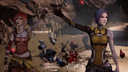 borderlands fist bump