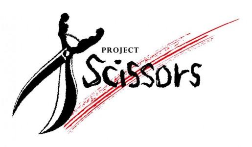 project scissors logo