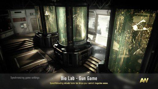 Advanced warfare gun game