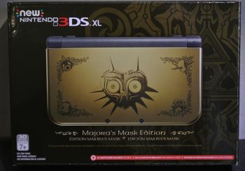 New Nintendo 3DS XL Majora's Mask Edition Unboxing and Overview