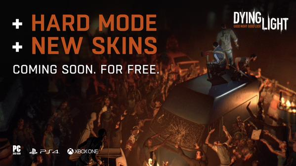 Dying Light getting new skins and hard mode for free