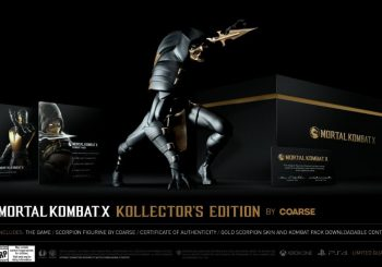Mortal Kombat X Kollector's Edition announced; it costs $180
