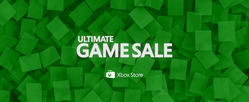 Ultimate Game Sale 2015 for Xbox One starts today