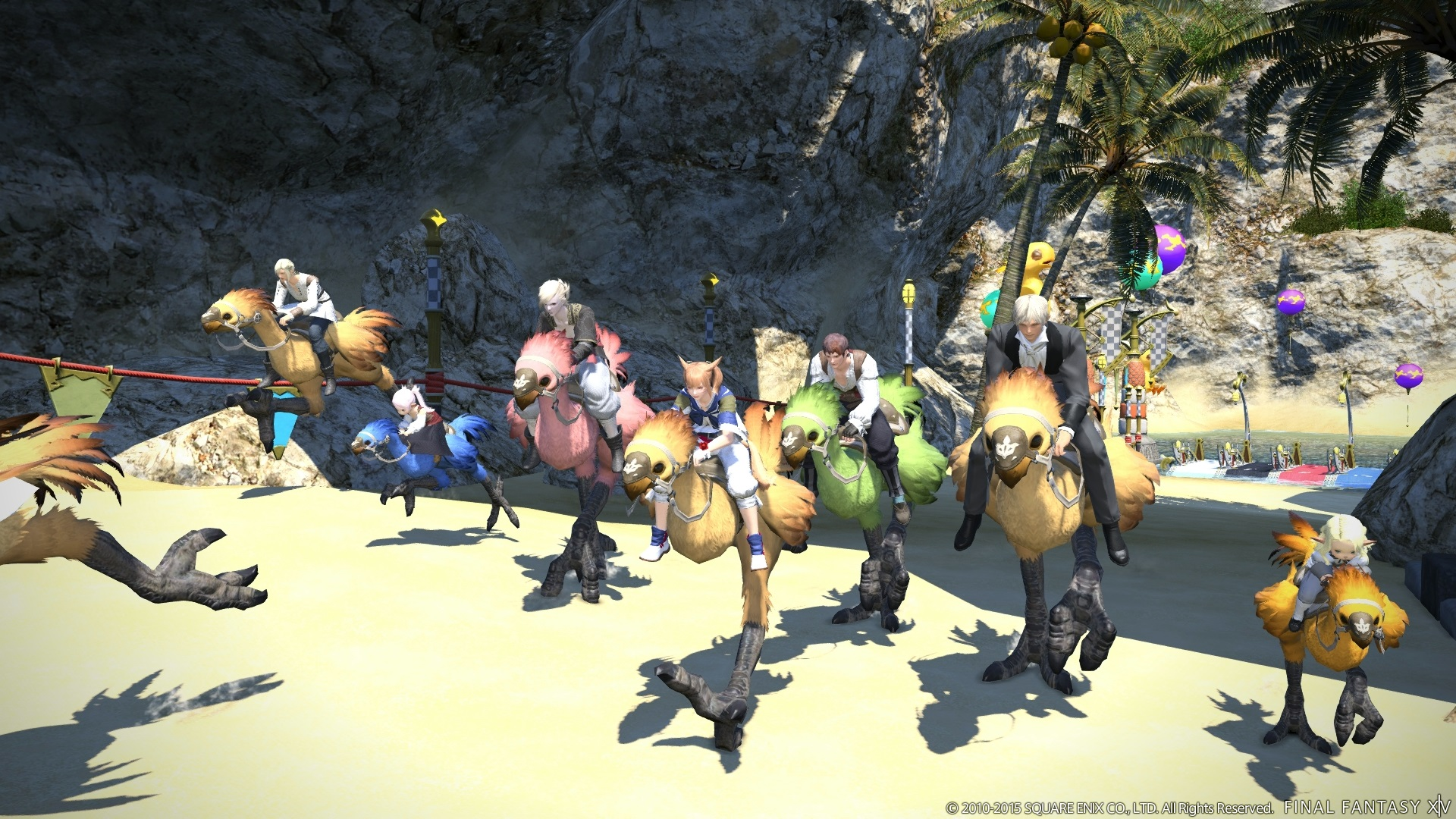 Final Fantasy XIV 2 51 Patch Adds Gold Saucer, Triple Triad