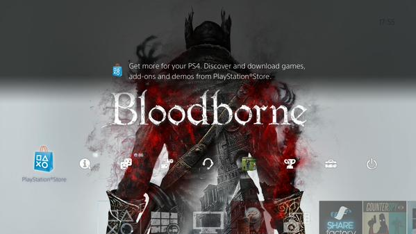 Free PS4 Bloodborne Theme For EU Users