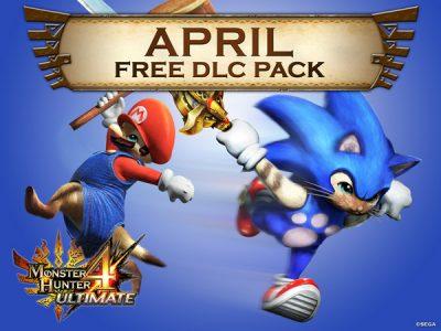 Monster Hunter 4 Ultimate April DLC