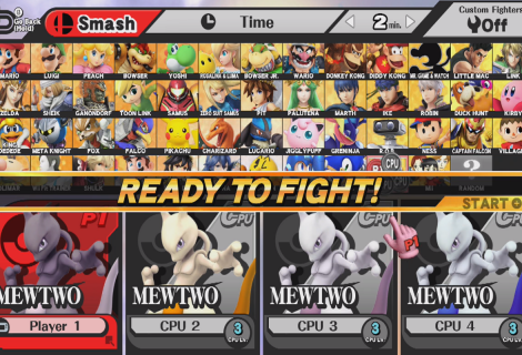 Check Out Mewtwo in Super Smash Bros. for Wii U and 3DS