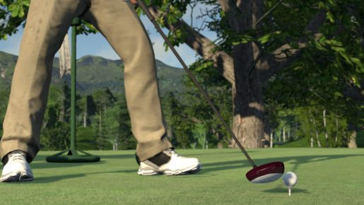 the golf club hot tee action