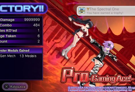 Hyperdimension Neptunia U: Action Unleashed - The Spectral One Trophy Guide