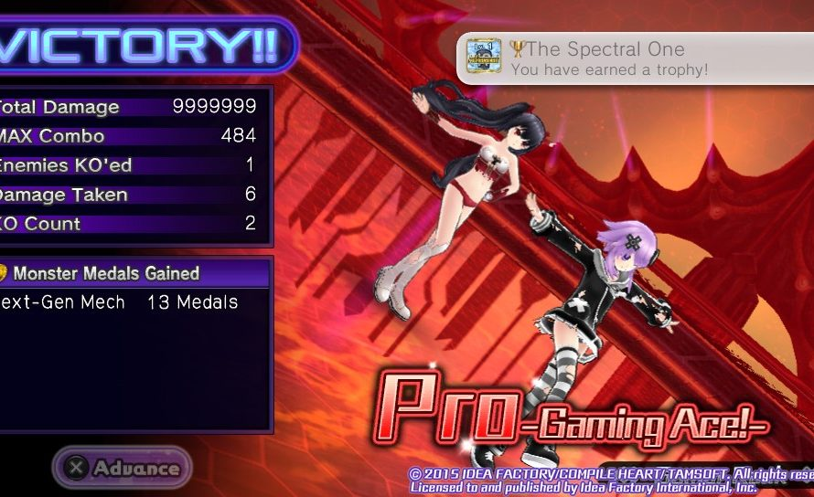 Hyperdimension Neptunia U: Action Unleashed – The Spectral One Trophy Guide