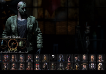 Mortal Kombat X - Hands On Jason and Horror Skin Pack