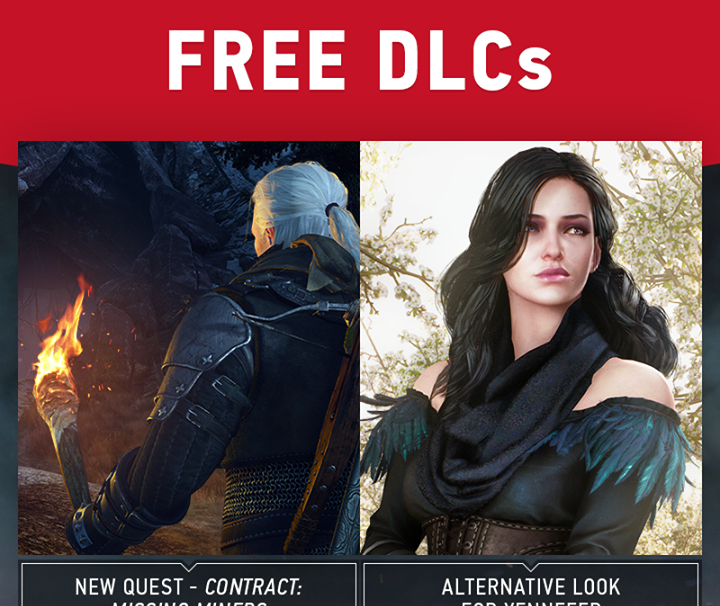 The Witcher 3 gets two new DLCs this week