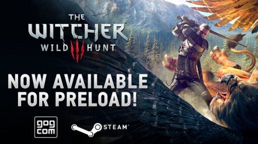 Witcher 3 pre-load