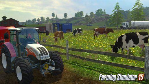 farming simulator 15 cow