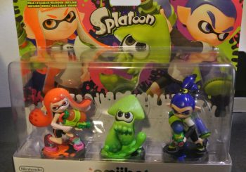 Splatoon Amiibo Three Pack Unboxing