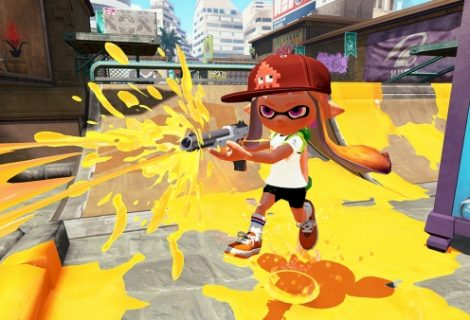 Splatoon adds a free map and weapon tonight