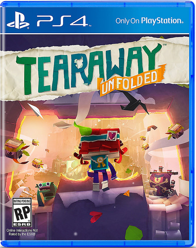 Tearaway Unfolded coming to PS4 on September 8th