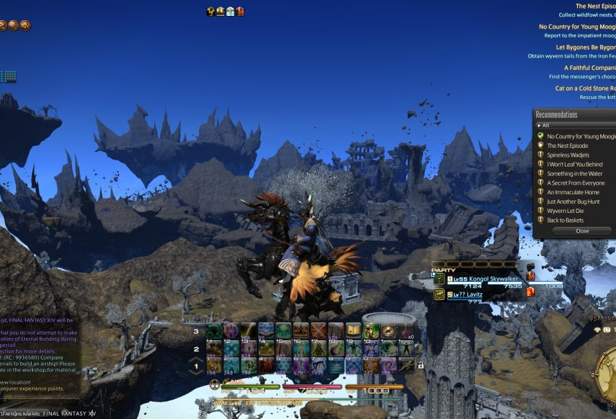 Final Fantasy XIV Heavensward Guide: How to Make a Regular Chocobo Fly