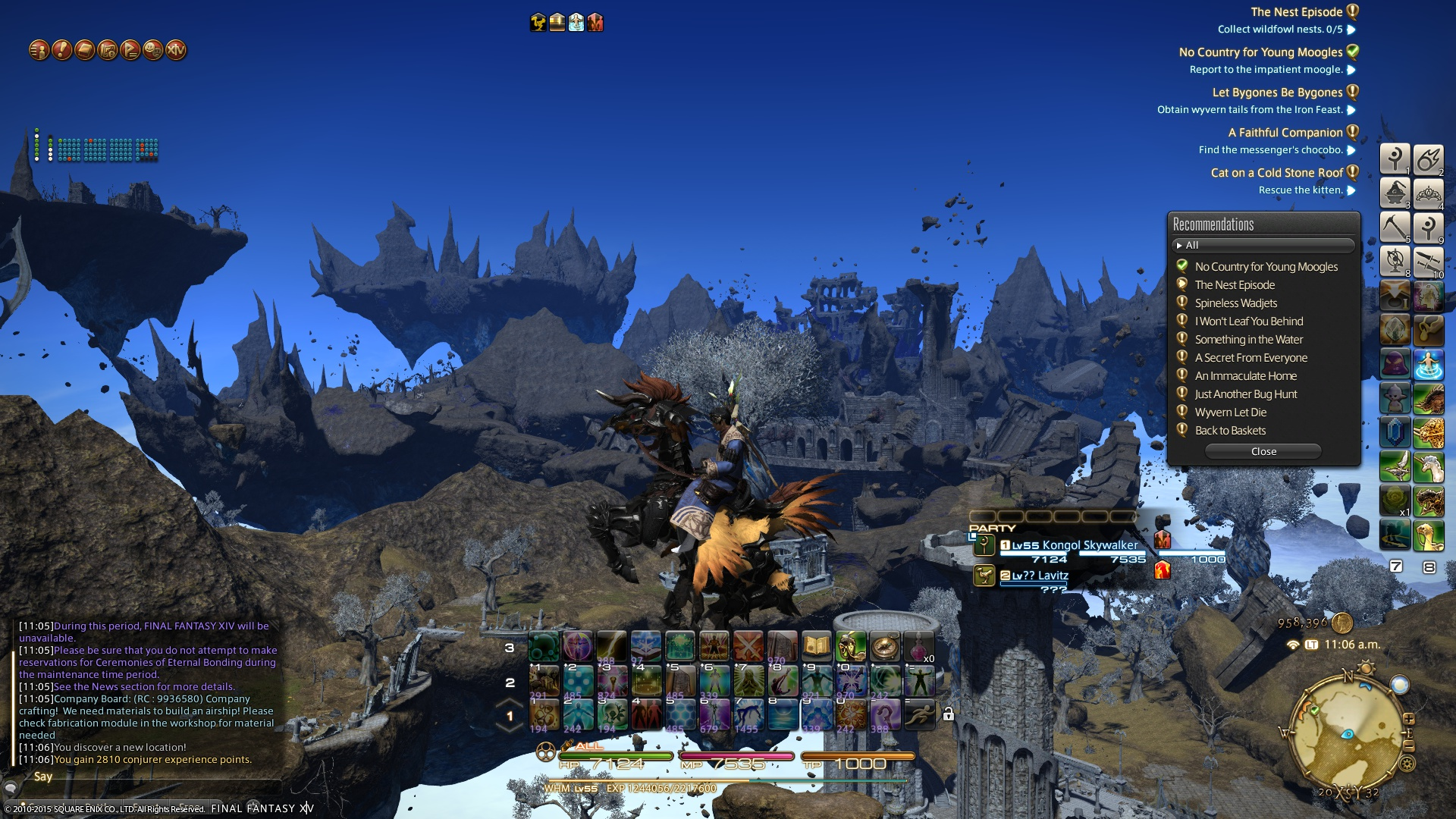 Final Fantasy XIV Heavensward Guide How to Make a Regular Chocobo Fly