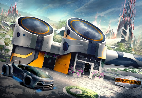 Call of Duty: Black Ops 3 adds Nuketown Map Call Of Duty Black Ops Maps on