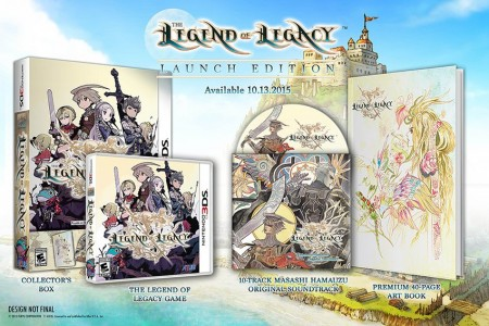Legend of Legacy 3DS