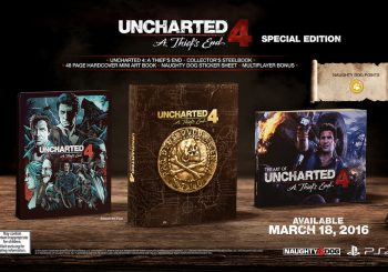 Uncharted 4: A Thieves End launches March 2016; Collector's Editions Revealed