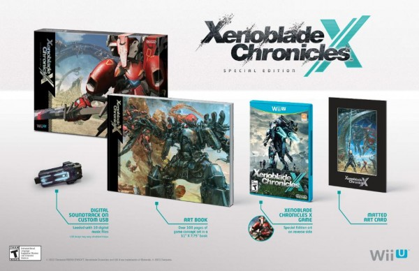 Xenoblade Chronicles X Special Edition for North America announced