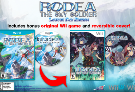 Rodea: The Sky Soldier Launch Edition Includes Wii Version and Reversible Cover Art