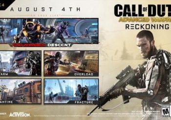 Call of Duty: Advanced Warfare Reckoning DLC now on PS4 and PC