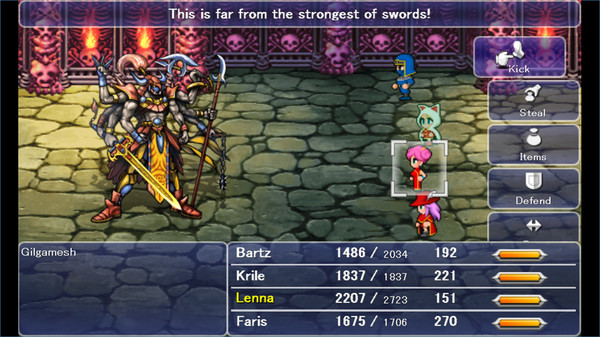 Final Fantasy V coming to Steam this September