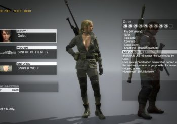 Metal Gear Solid 5: TPP Guide - How to get Sniper Wolf's costume for Quiet