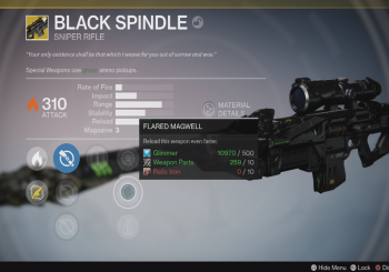 PSA: You Can Get the Black Spindle Today in Destiny