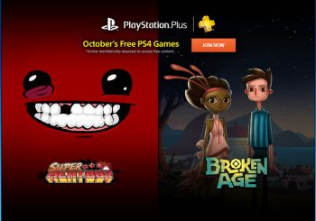 PlayStation Plus Free Games Revealed for October; Includes Super Meat Boy and More