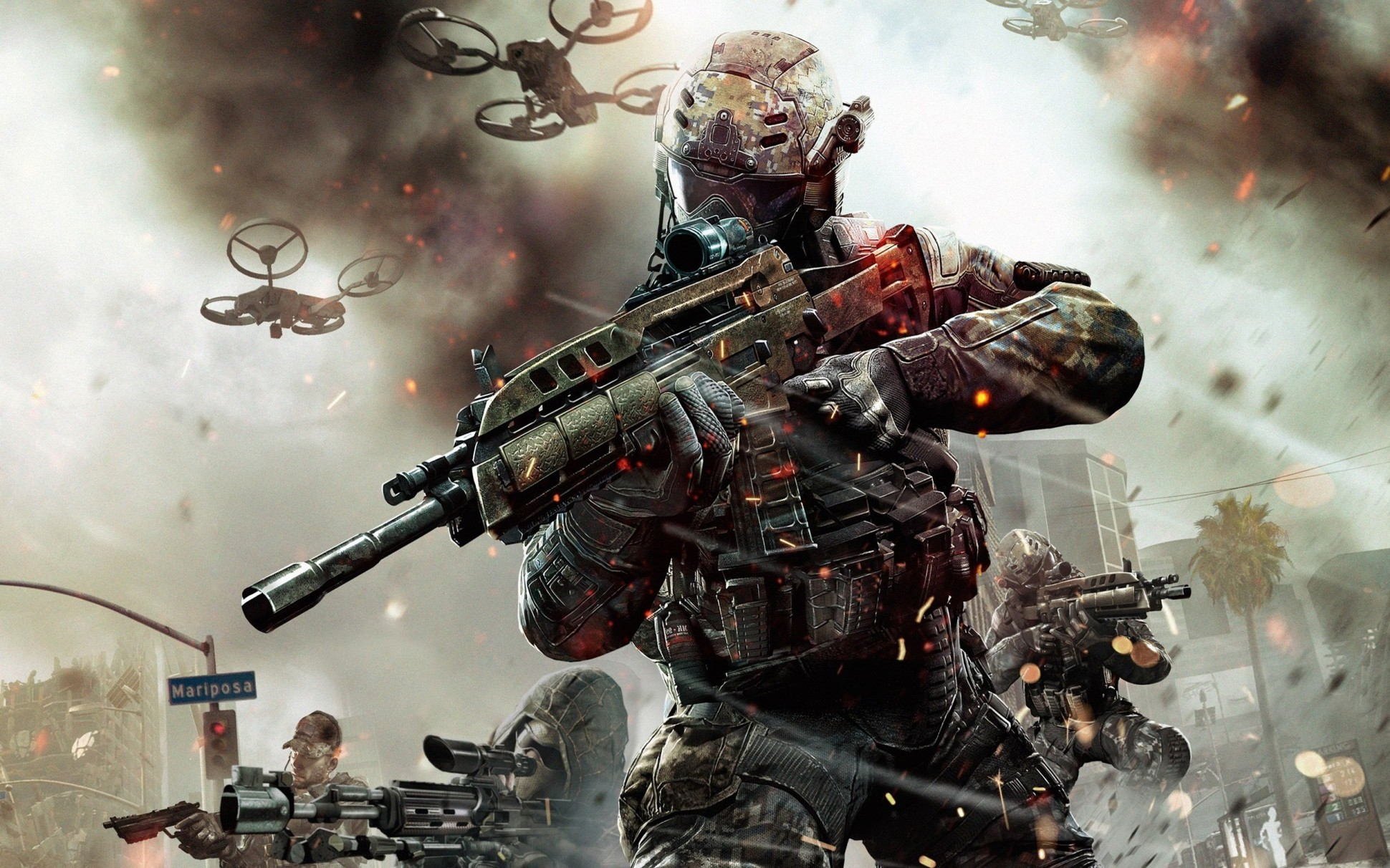 Call Of Duty Black Ops 3 Launch Gameplay Trailer Released