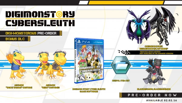 Digimon Story: Cyber Sleuth coming February 2 in North America
