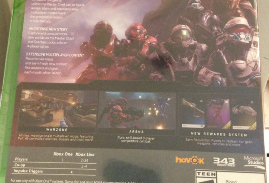 Halo 5: Guardians requires at least 60GB of hard drive space