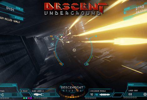 Descent: Underground Preview