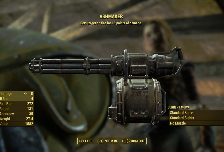 Fallout 4 Guide – The Big Dig & the fiery Ashmaker