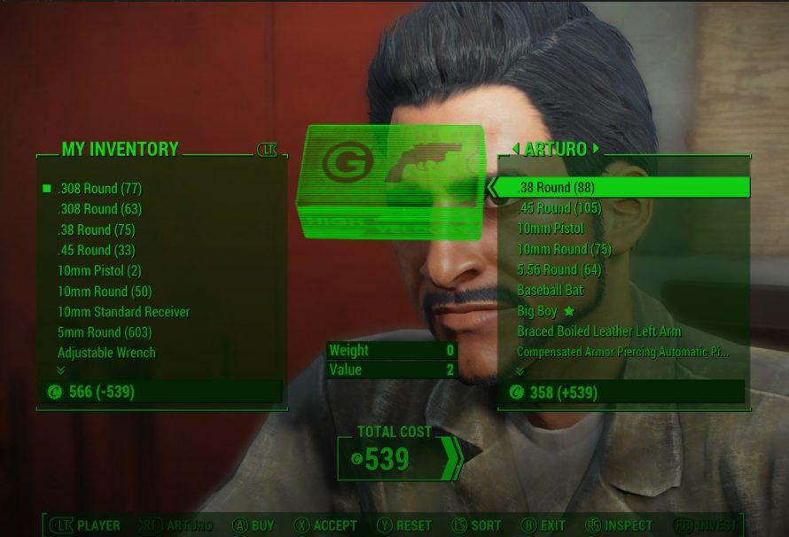 Fallout 4 Guide - Infinite Bottle Cap Money Glitch Trick