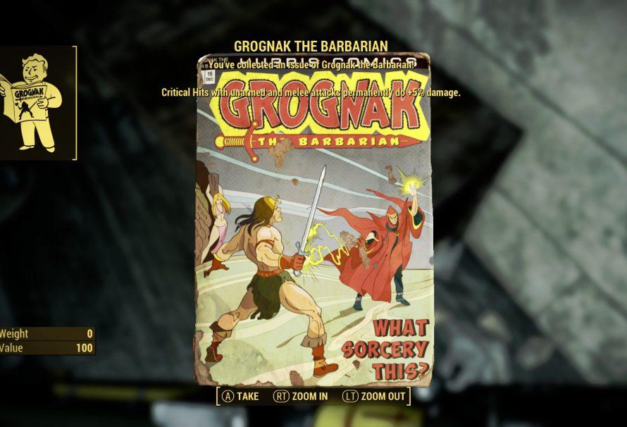 Fallout 4 Guide – Grognak the Barbarian Magazine Locations